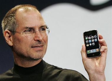 """steve & Iphone"""